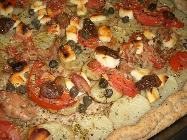 Gozitan Ftira #maltese_cuisine #maltafood