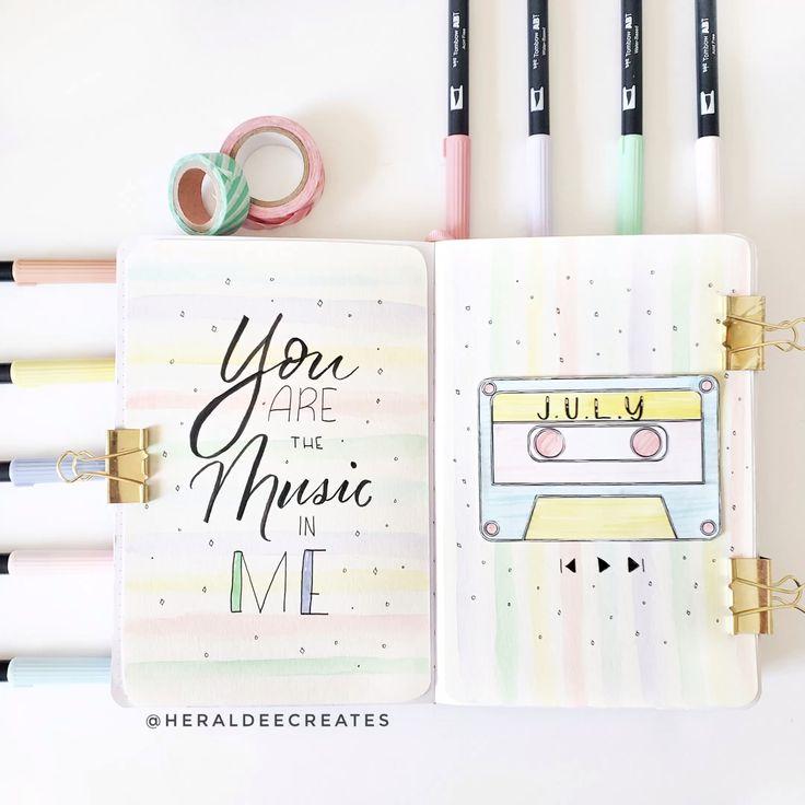 My Bullet Journal Pastel Theme – Heraldeecreates
