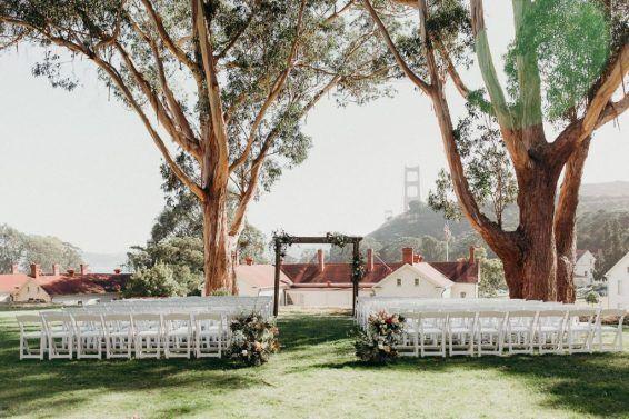 San Francisco Outdoor Wedding Venues Bay Area Wedding Venues Outdoor Wedding Venues San Francisco Wedding Venue