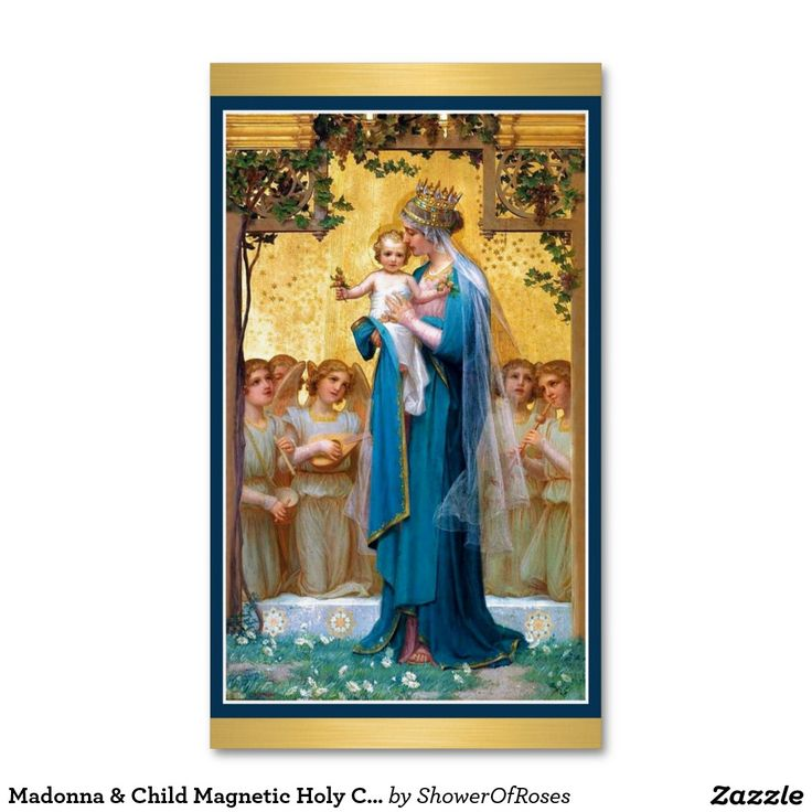 12 best magnetic holy cards images on pinterest catholic magnetic madonna child magnetic holy cards 25pack colourmoves