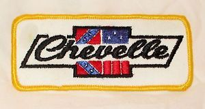 Vintage Chevelle Embroidered Patch 1970s Chevy Chevrolet Racing 4.75 x 2