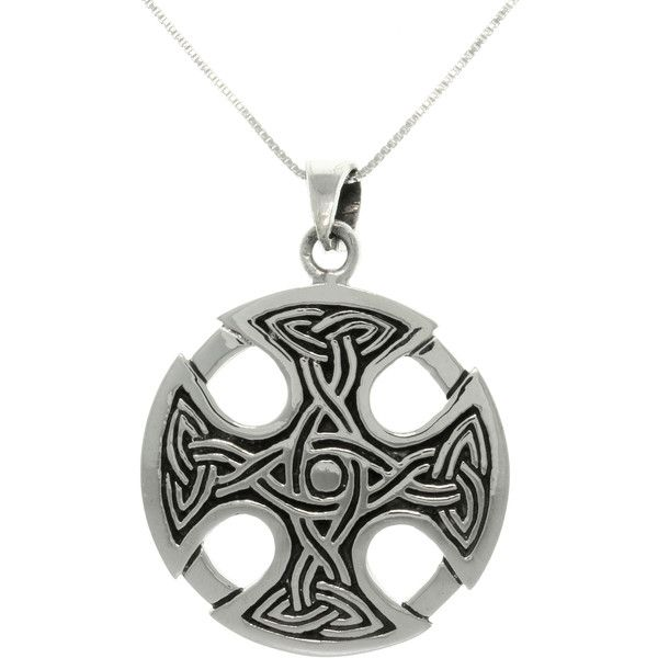 Carolina Glamour Collection Silver Celtic Medallion Cross Necklace ($32) ❤ liked on Polyvore featuring men's fashion, men's jewelry, men's necklaces, silver, mens gold medallion necklace, mens silver cross necklace, mens silver crucifix necklace, mens silver necklace and mens celtic cross necklace