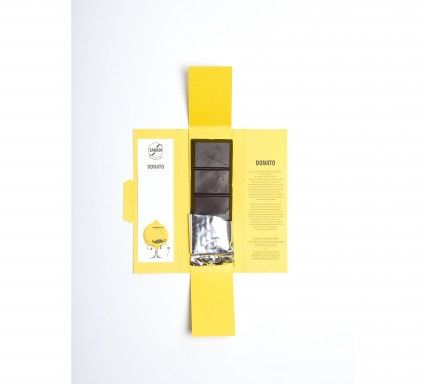 """DONATO"" Organic Modica Chocolate with Interdonato Lemon Zest"