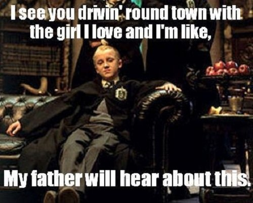 Funny Harry Potter Memes Draco : Funny af harry potter memes that are as good as the rictusempra