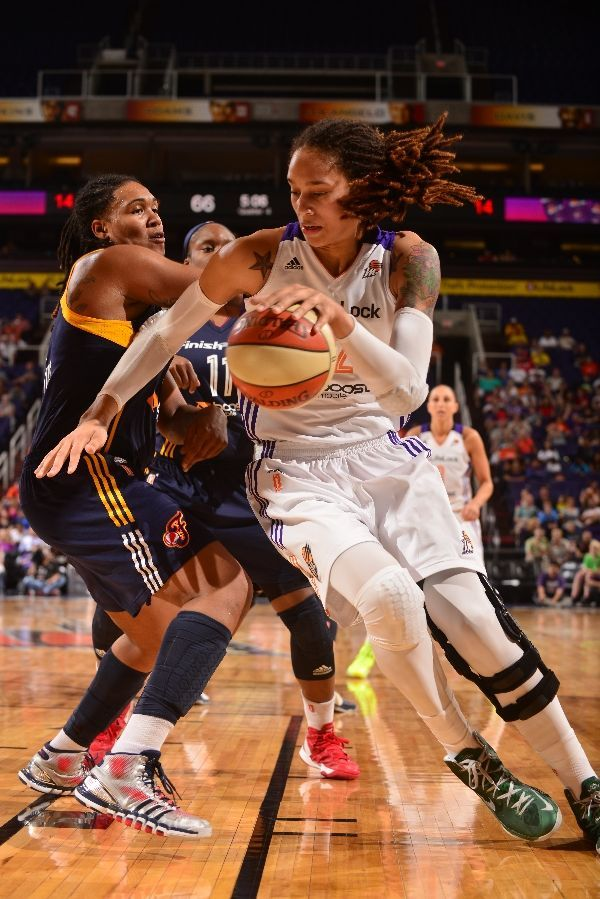 Brittney Griner Phoenix Mercury WNBA