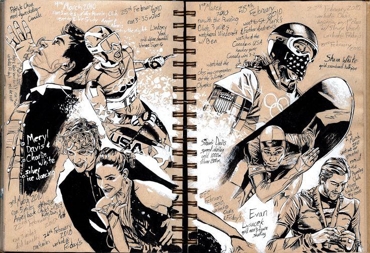 sketchbook portraits - Google Search