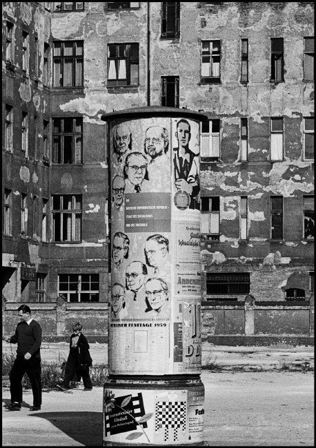 Magnum Photos — Thomas Hoepker — East Berlin. 1959. Festivities for the 10th Anniversary of the German Democratic Republic.