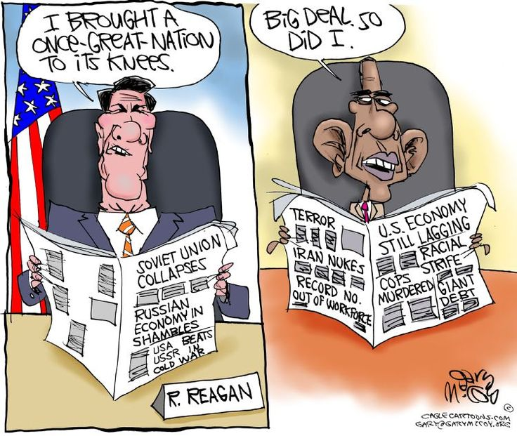 Legacy of Ronald Reagan and Barack Obama Brilliantly Compared