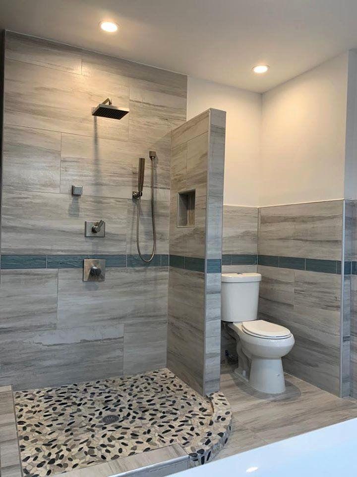 Master Bedroom With Open Bathroom In 2020 Open Concept Bathroom