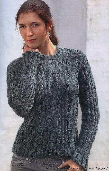 пуловер/свитер | Записи в рубрике пуловер/свитер | Домашнее творчество : LiveInternet - Российский Сервис Онлайн-Дневников