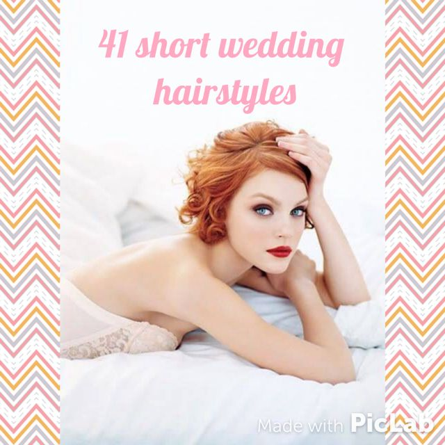 for brides, bridesmaids, mother of the bride and guests! Ehy my Ladies,  how are you? after the great success of the wedding hairstyles and the wedding updos  here we go with the best bridal hairstyle for short hair. These 39 cuts and styles are awesome. I hope you'll find the right inspiration for you, either if you are a bride, a bridesmaid or a guest. xoxo, Silvia Ehy Ragazze, come state? Dopo il grande successo degli articoli sui wedding hairstyles e the wedding updos, eccoci qui con le…