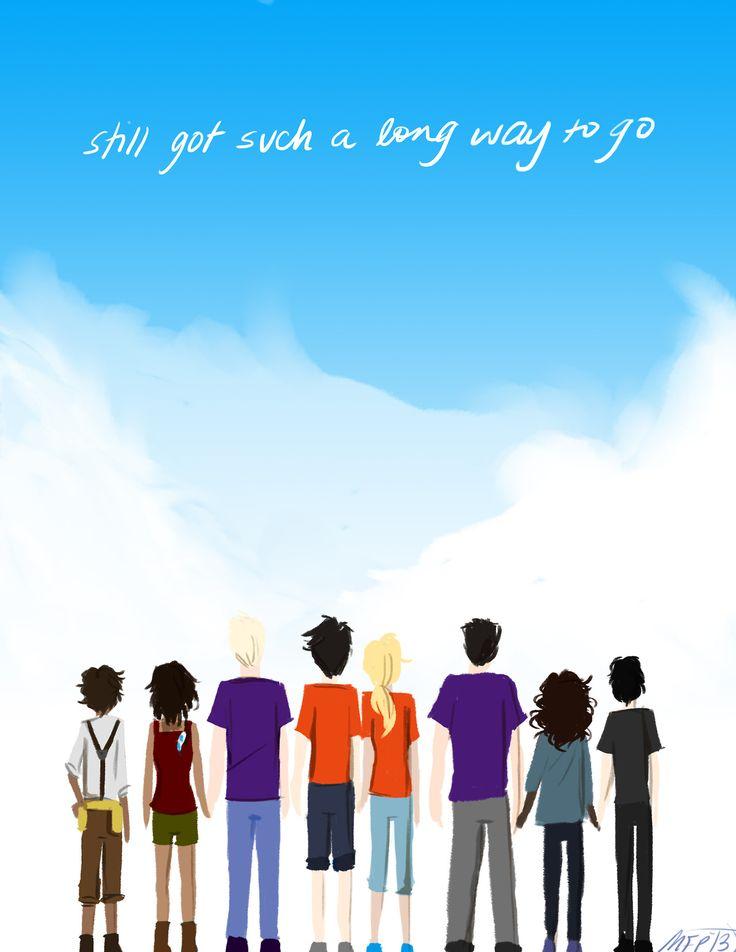 <3 || Percy Jackson and the Olympians || Heroes of Olympus || Rick Riodan || Fanart