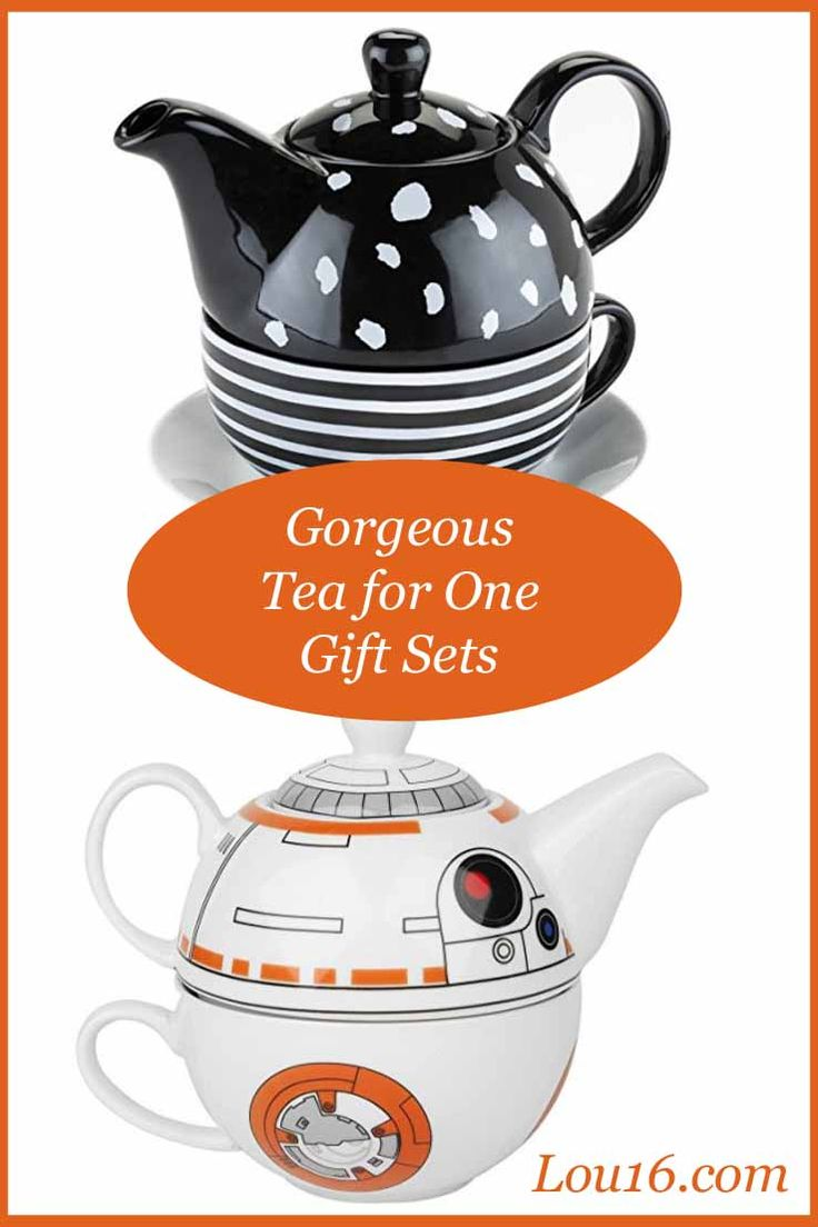 Gorgeous tea for one gift sets