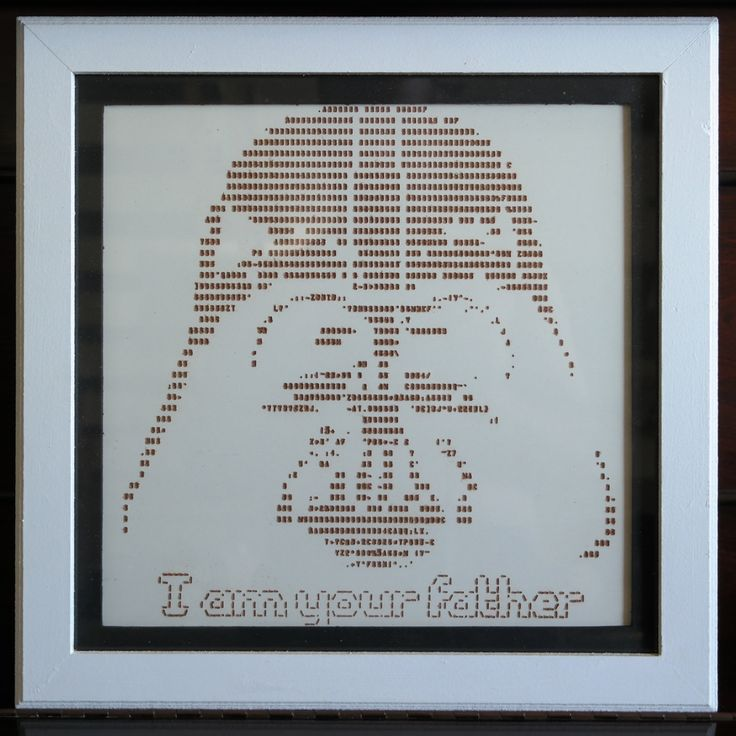 One Line Ascii Art Star Wars : Besten ascii art bilder auf pinterest kunst