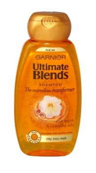 GARNIER ULTIMATE BLENDS SHAMPOO 250ML THE MARVELLOUS TRANSFORMER