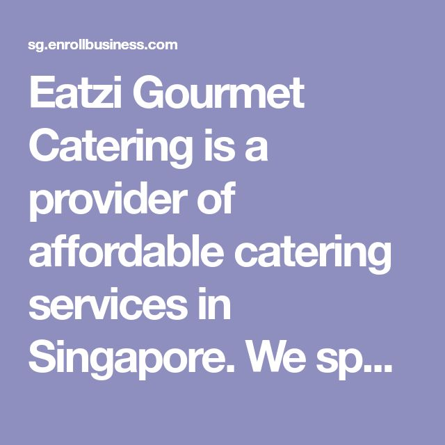 Eatzi Gourmet Catering is a provider of affordable catering services in Singapore. We specialize in wide variety of halal buffet packages, wedding catering packages, corporate catering menu, and any types of food catering services that is needed in Singapore. We want you to host your event with style and confidence by serving you and your guests with mouthwatering international cuisines made by our team of experienced and dedicated talents. Know more about our delicious menus and packages by…