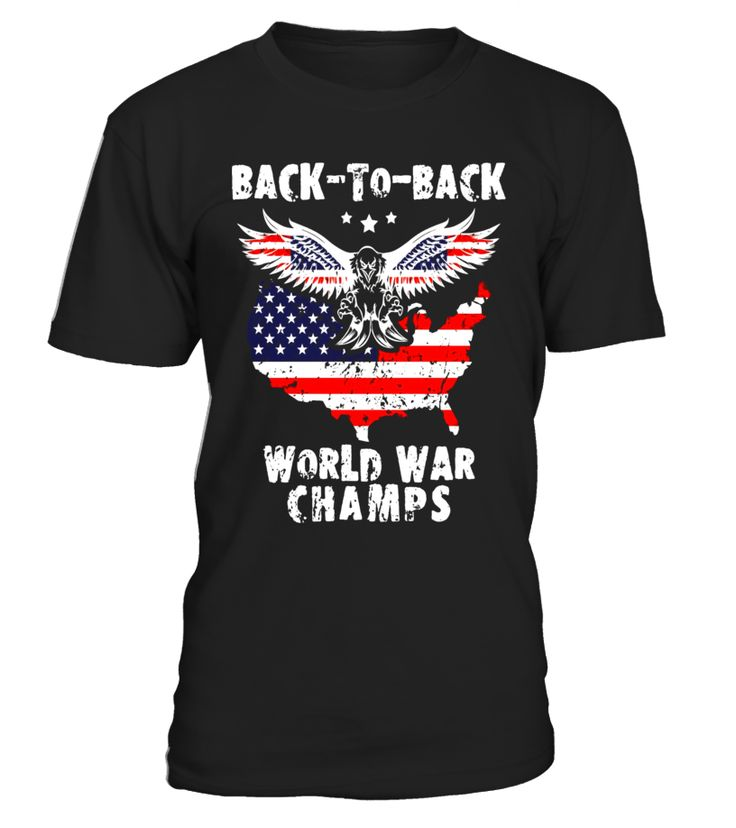 Back-To-Back World War Champs T-Shirt WW1 WW2 Vintage Tshirt  Funny halloween adults T-shirt, Best halloween adults T-shirt