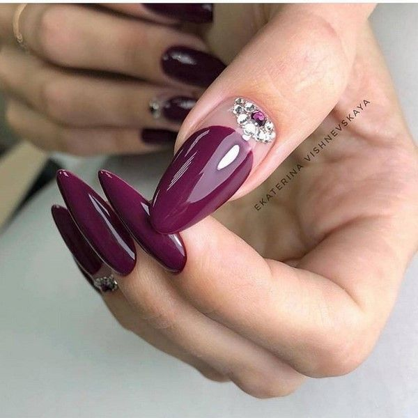 80 Long Nails Art Design Ideas In Fall Winter 2020 Long Nail