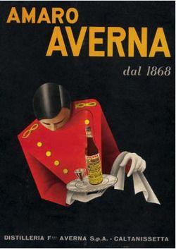 Amaro Averna old Advert