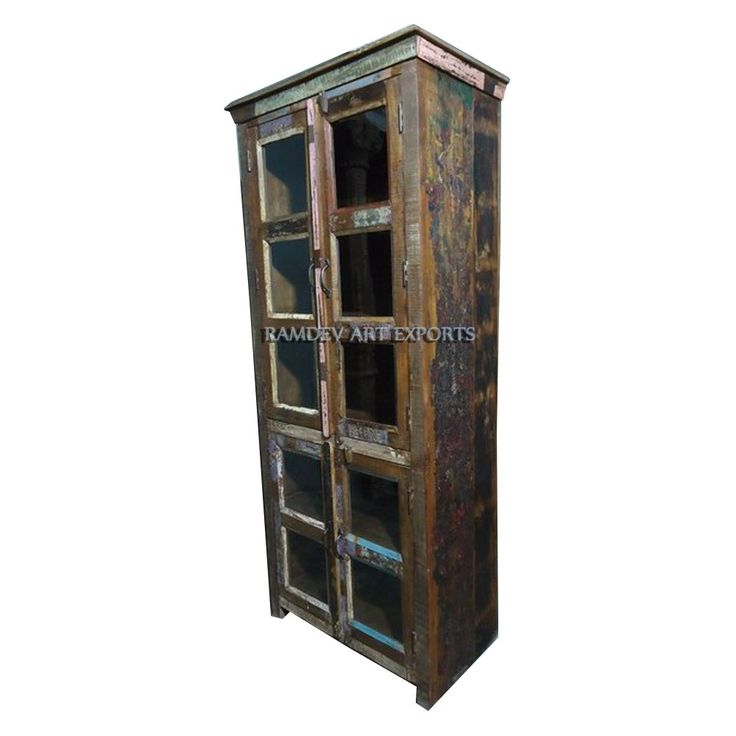 Reclaimed Wooden Cabinet | Indian Reclaimed Wooden Cabinet | Two Door Reclaimed Wooden Cabinet | Indian Reclaimed Wooden Cabinet