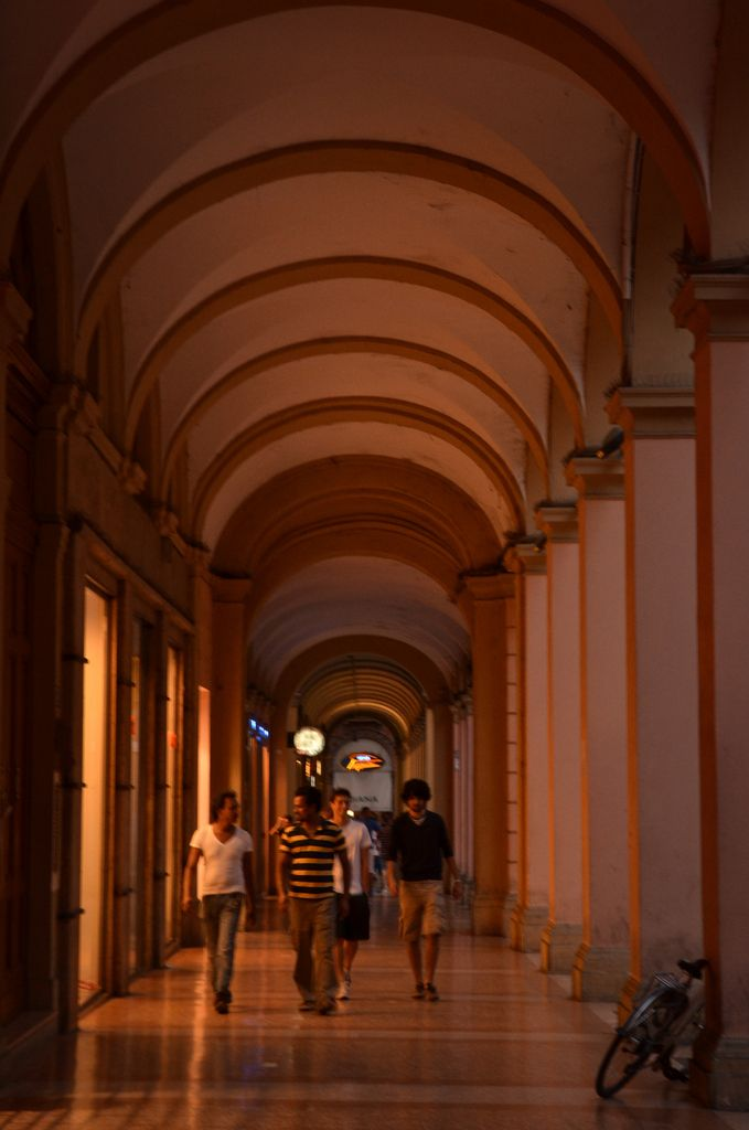 """Bologna Porticoes - """"Bologna la Rossa — Scenes from a Red City"""" by @Kat Ellis McCulley"""