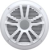 """Boss Audio Systems - MR6W 6-1/2"""" Marine Speakers with Carbon-Composite Cones (Pair) - White"""