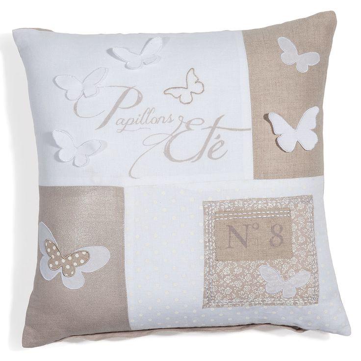 kissenbezug butterfly patchwork kissen decken pinterest kissenbez ge patchwork und kissen. Black Bedroom Furniture Sets. Home Design Ideas