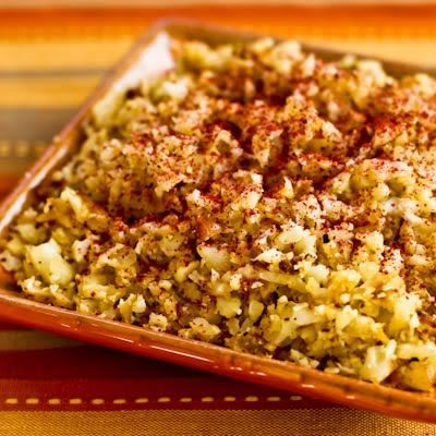 Cauliflower Rice with Fried Onions and Sumac
