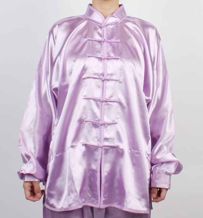 TaiChi Uniform Wushu KungFu Tai Chi Chuan uniforms Kung Fu Chinese Light Purple…