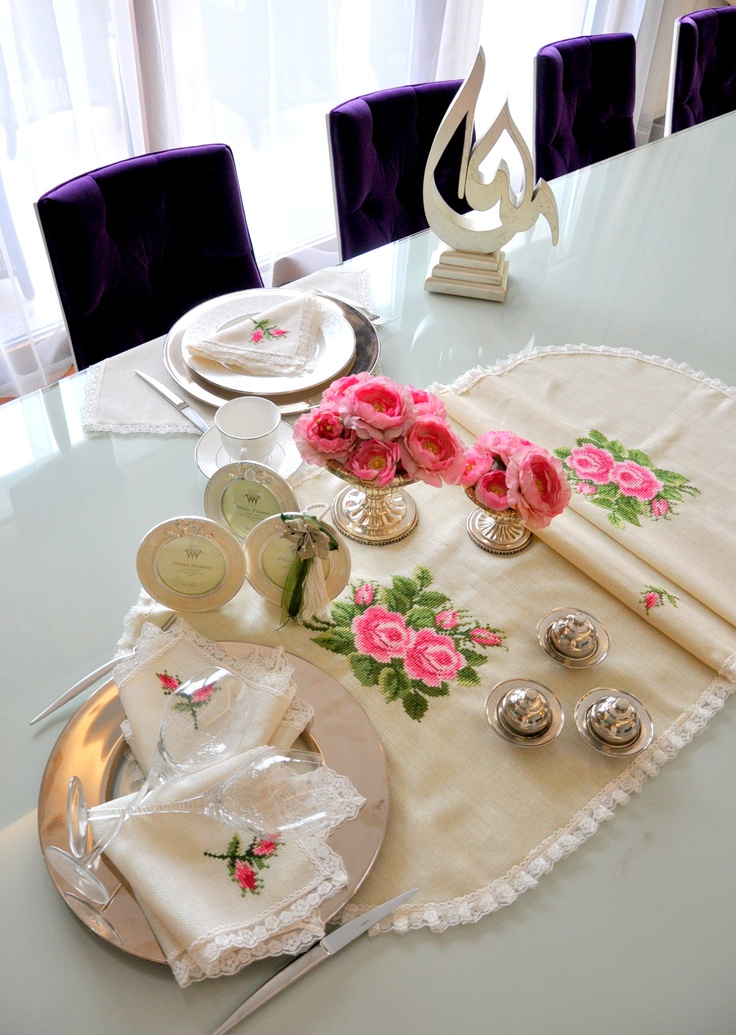 #tablecloth #masa #sofra #misafir #hazirlik #guests #tableware