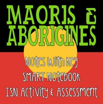 This lesson bundle for 6th-9th grades will teach students about the New Zealand & Australia natives. Students will learn about their origin, culture, consequences of colonization and current struggles. This lesson bundle includes:-15 slide SMART Notebook that can be presented as a class or done independently.