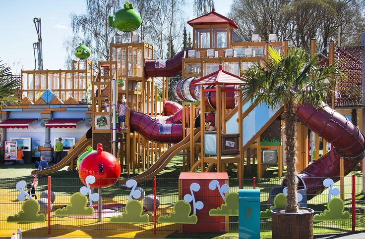 Angry Birds themed play park in Särkänniemi. Photo © VisitFinland.
