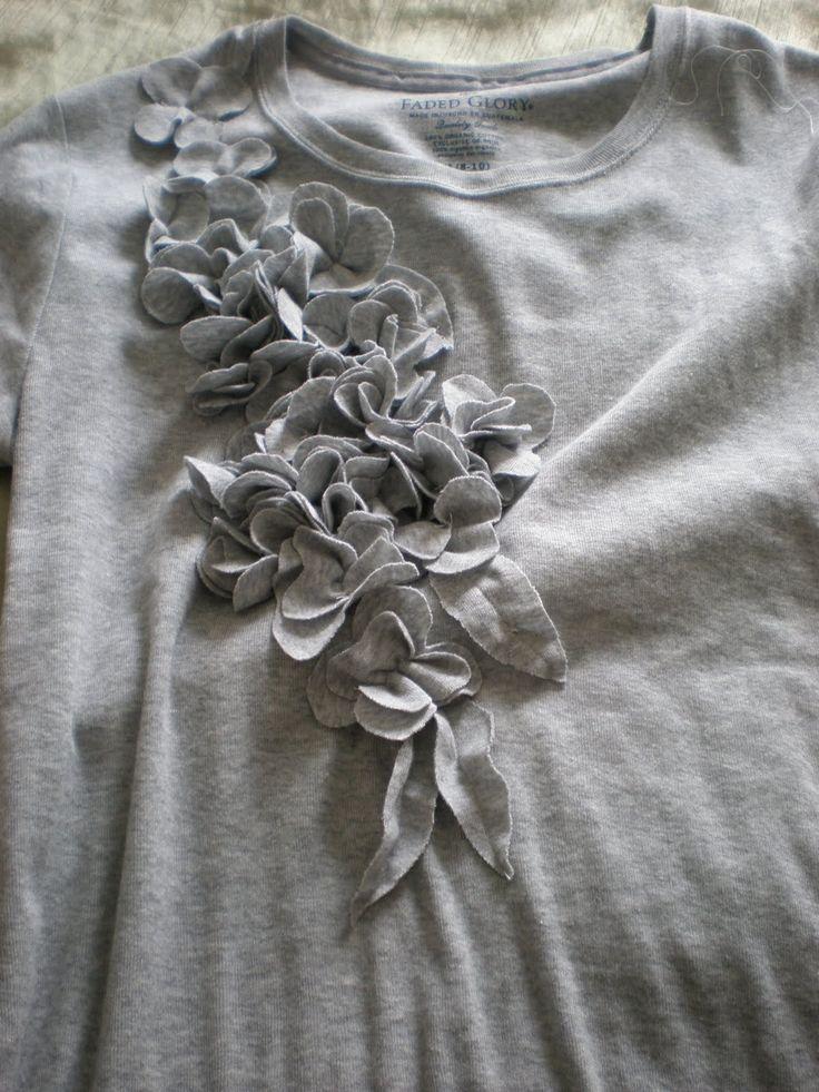 Favorit Plus de 25 idées uniques dans la catégorie T shirts modifiés sur  WR54