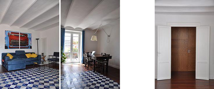SM - House - interior design by arch Simona Perrotta GASParch - Living-room