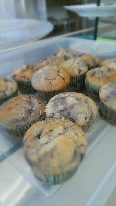 Blueberry Tangerine gluten free muffins