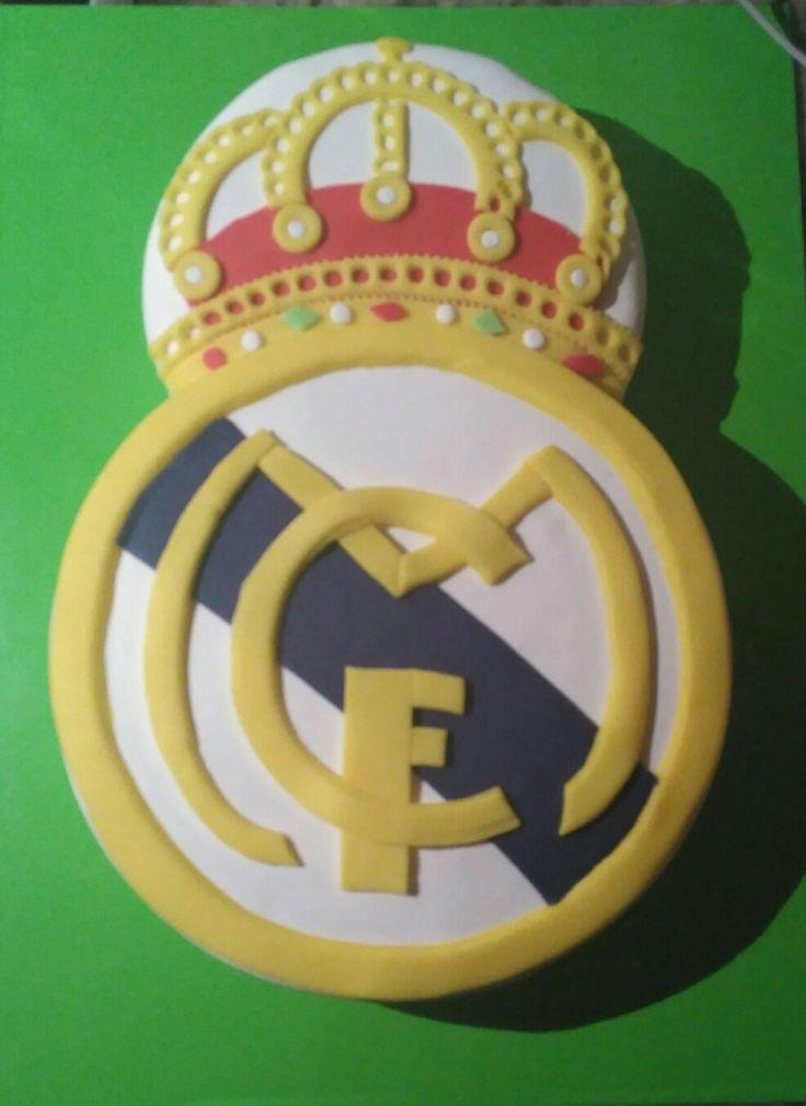 Tarta escudo del Real Madrid