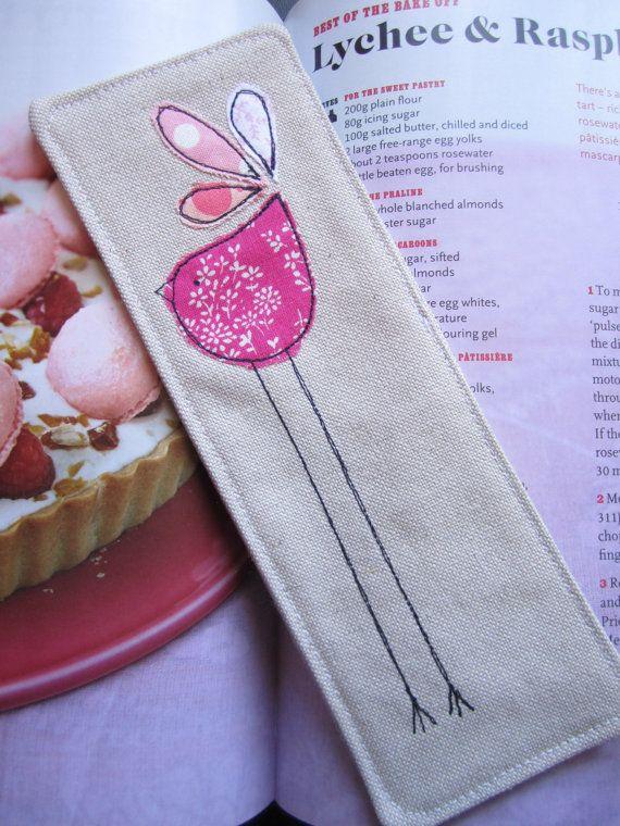 Leggy Bird Bookmark