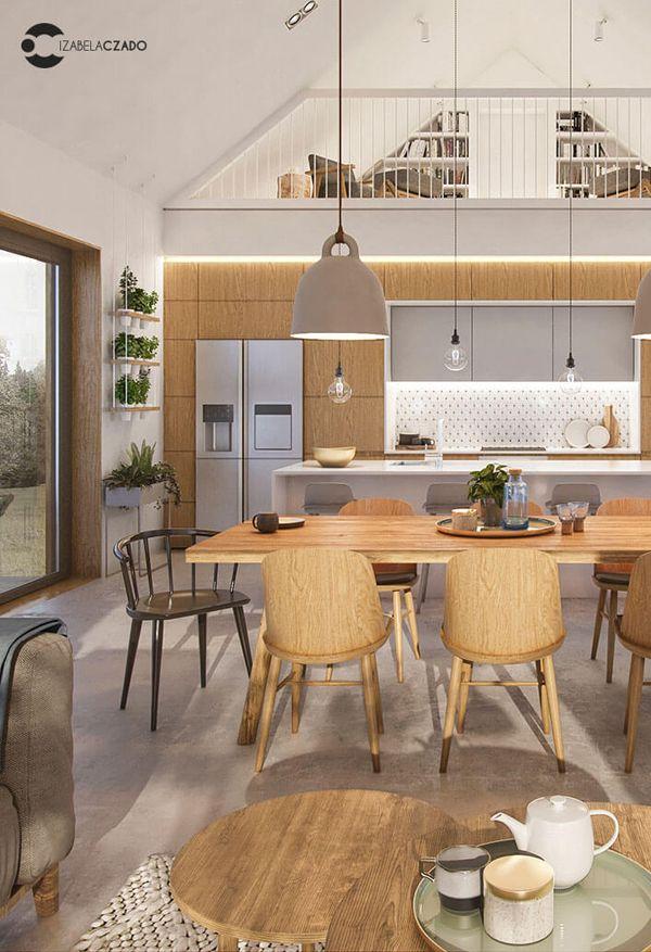 Simplicity Scandinavian House With Wood Characteristics Home Design And Interior Scandinavian Home Kitchen Design Wood Kitchen