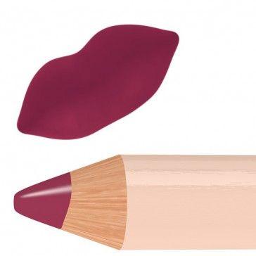 Biomatita labbra color rosso prugna scuro dal finish opaco.