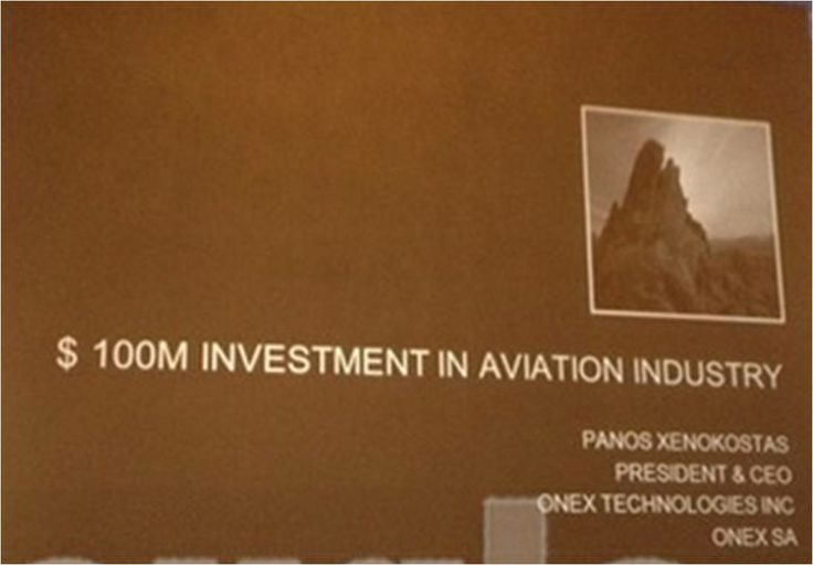 $ 100M Investment Proposal from Panos Xenokostas to HAI (Hellenic Aerospace Industry) #aviation #aerospace #defense #greekcrisis http://www.onexcompany.com