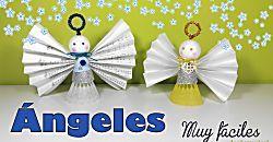 Angelitos de Navidad para adornar tu árbol