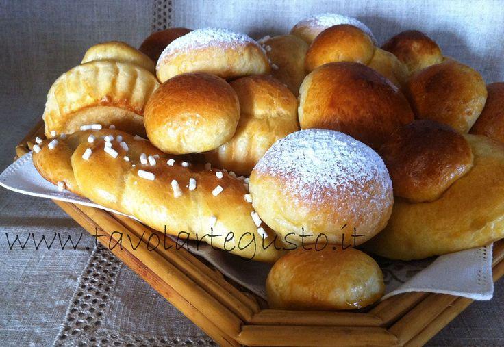 Pasta Brioches - Brioches dolci http://www.tavolartegusto ...