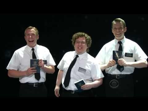 "▶ THE BOOK OF MORMON (Broadway) - ""Hello"" [LIVE @ The 2012 Tony Awards] - YouTube"