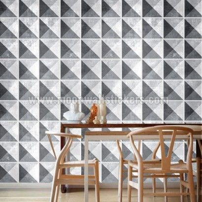 Geometric Stone Stickers For Tiles Pack With Tile Kitchen Backsplash Bathroom Decals Sku Gsdatiles Usd By Homeartstickers