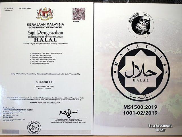 Burgerlari Cheras Leisure Mall Jakim Halal Certified Chicken Burgers Chicken Burgers Food Blog Malaysian Food