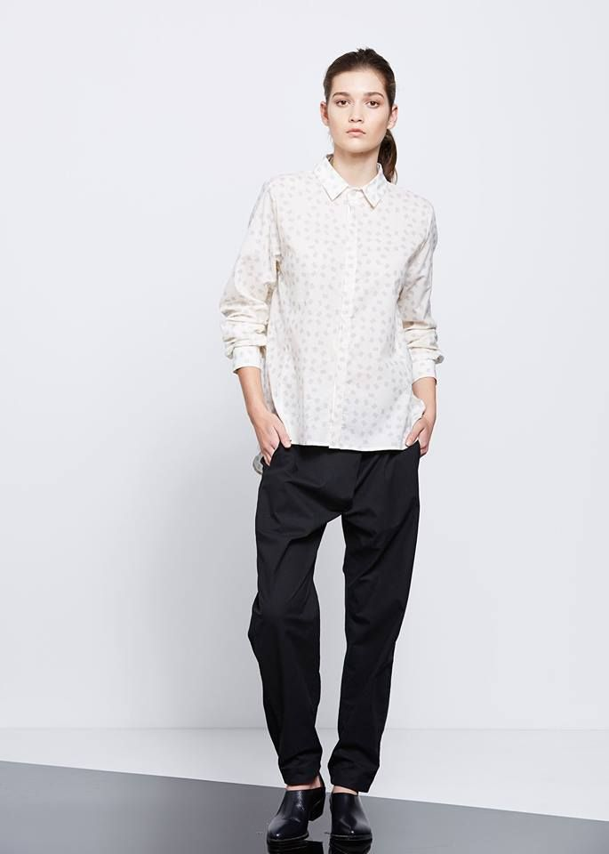 Starting Point Shirt by Kowtow. Ethical organic cotton.