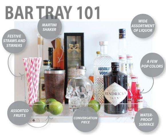Entertaining: Bar Tray 101 : loveletterstohome
