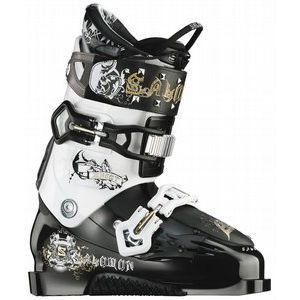 Salomon Ghost Ski Boots Black/White