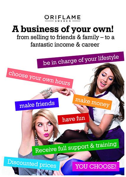 Oportunitatea Oriflame - Oriflame iti ofera sansa de a-ti mari veniturile si cu o investitie minima poti castiga bani incepand de azi!