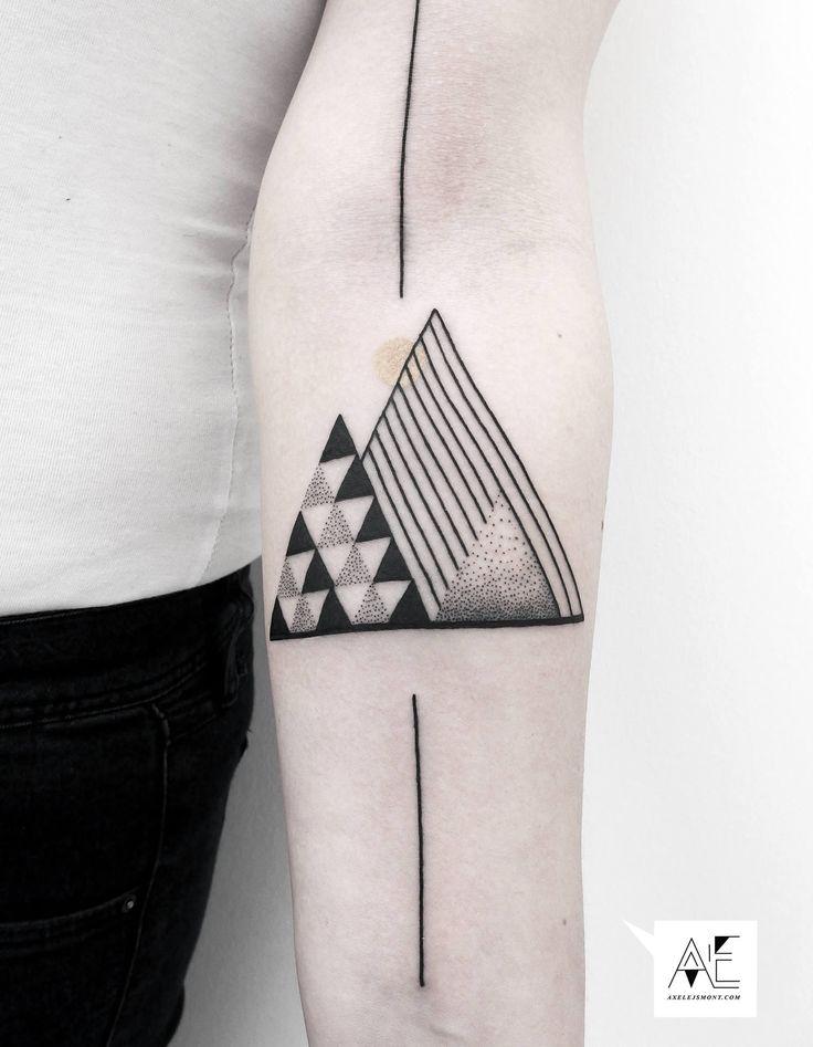 The Beautifully Minimalist Tattoos of Axel Ejsmont | Illusion Magazine
